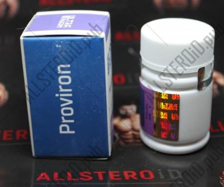 Mesterolone (провирон) 25mg/tab - ЦЕНА ЗА 40ТАБ