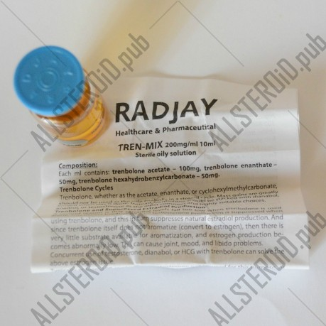 Tren-Mix 200mg/ml от Radjay