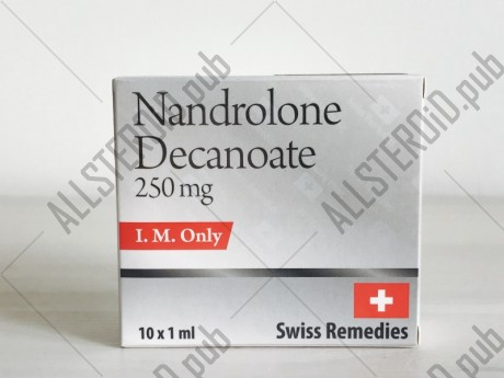 SWISS NANDROLONE DECANOATE 250 250mg/ml  - ЦЕНА ЗА 1 АМПУЛУ