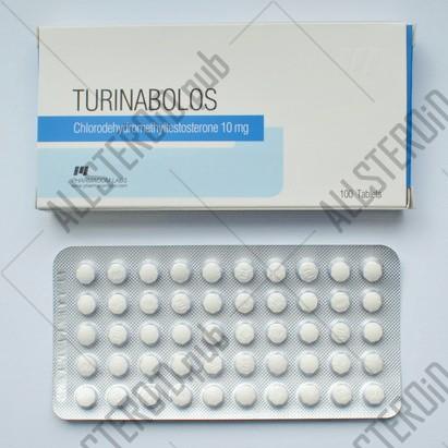 Turinabolos 10mg/tab - Цена за 50 таб